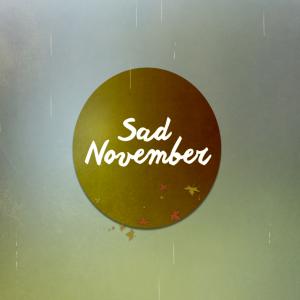 .SAD NOVEMBER. logo