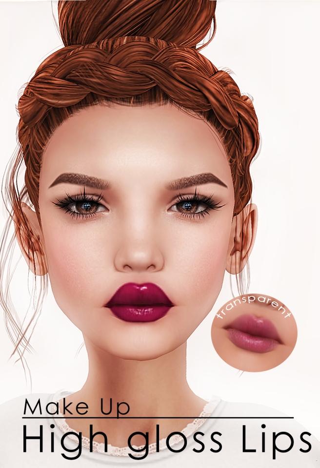 makeups vendor lipsgloss transparent