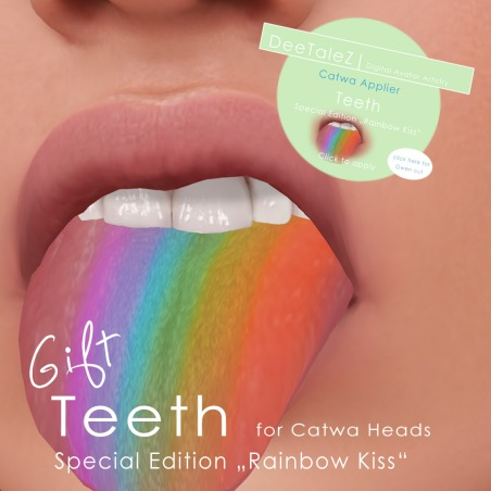 rainbow kiss teeth