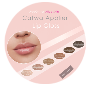 Vendor Catwa MAKEUP GLOSS ADDON Alice