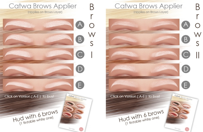 catwa brows