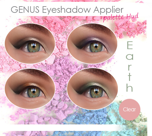 genus mu palette hud eyeshadow klein earth vendor