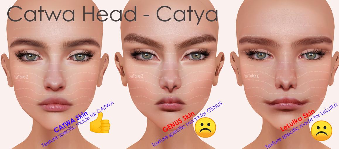 CATWA HEAD BOM tests