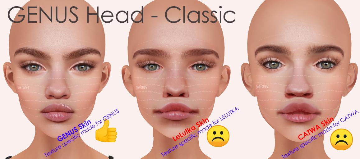 GENUS HEAD BOM tests