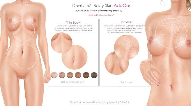 BODY ADDONS VENDOR default skin THIN PG